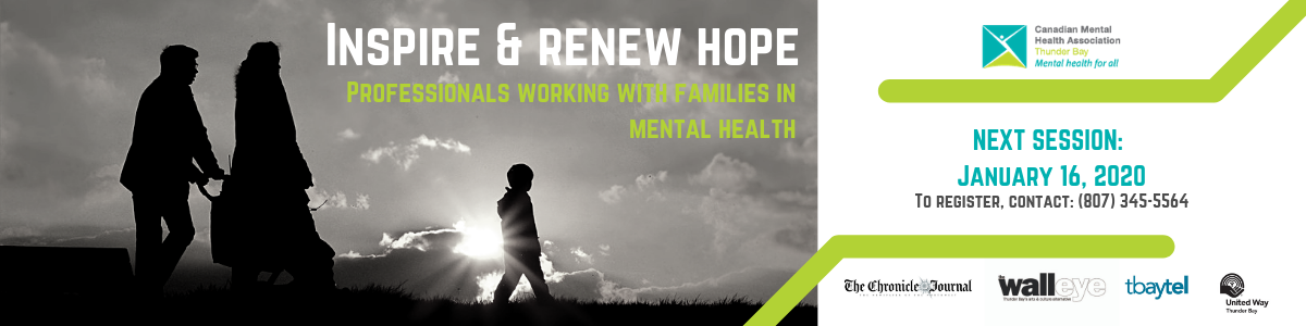Inspire & Renew Hope: Professional Working with Families in Mental Health
