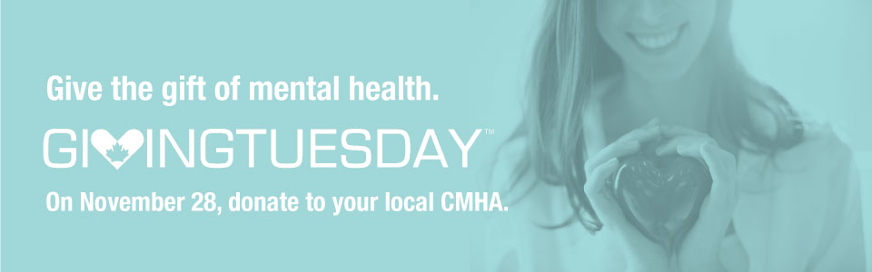 Support mental health for Giving Tuesday