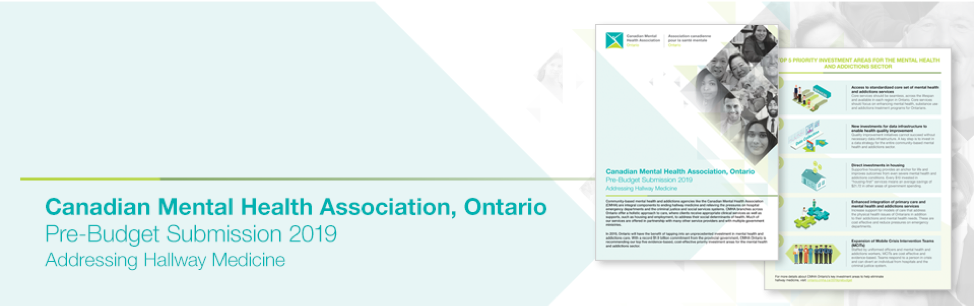 CMHA Ontario's 2019 Pre-Budget Submission