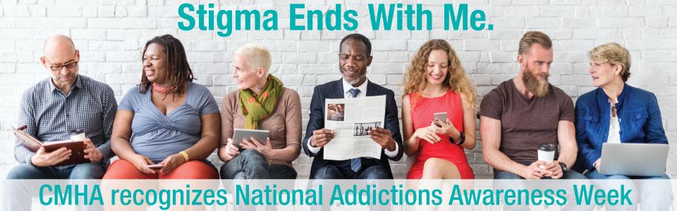 CMHA Thunder Bay recognizes National Addictions Awareness Week