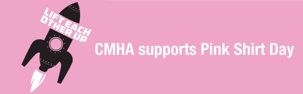 CMHA Thunder Bay Supports Pink Shirt Day